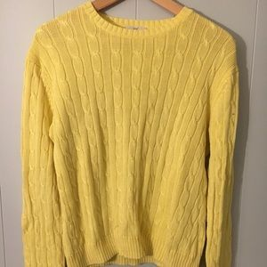 Cable-Knit Brooks Brothers Sweater